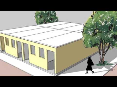 Duany Flatpack Prefab Unveiled, 1000 Shelters to be Donated to Haiti