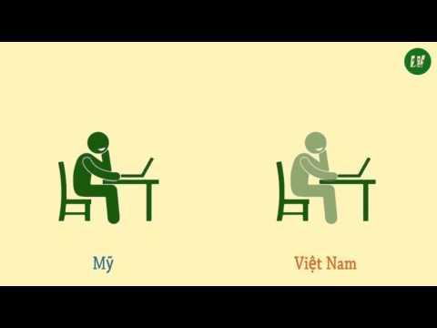 Sự khác nhau giữa đại học Việt Nam và Mỹ