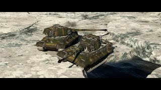 War Thunder [21:9] - Tiger 10.5 - Ice rescue