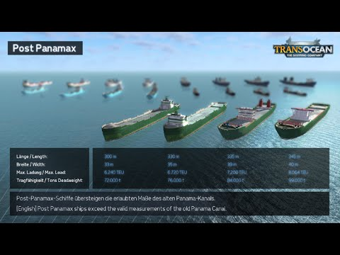 Серия 5. Постпанамакс  [Прохождение TransOcean The Shipping Company]