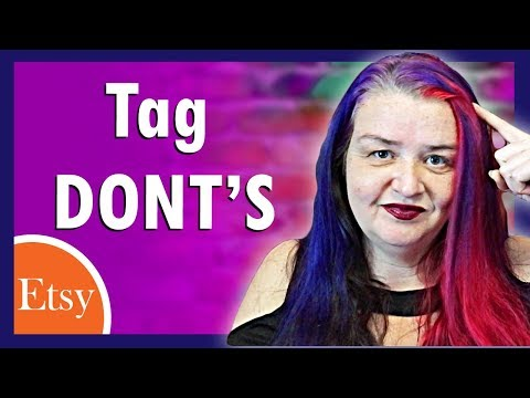 Etsy SEO 2019. Repeating tags, titles and keywords