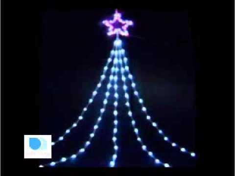 led shooting star light pink white christmas lights