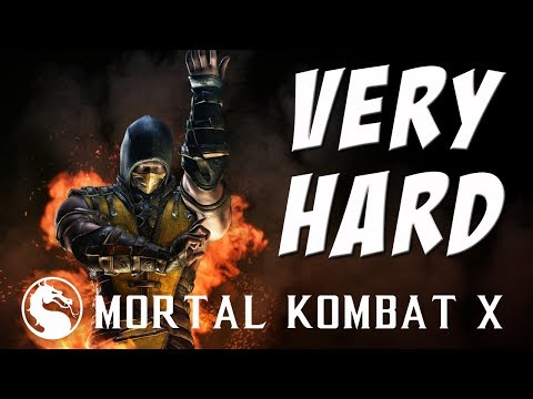 Mortal Kombat X - Scorpion (Inferno) - Klassic Tower on Very Hard
