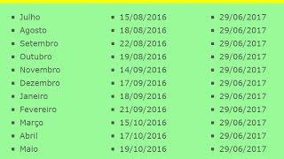 confira o calendrio pis 2016 e 2017 calendrio de pagamento