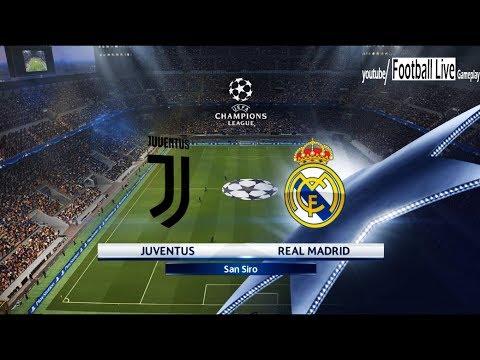 Juventus FC vs Real Madrid   UEFA Champions League (UCL)   PES 2018 Gameplay PC