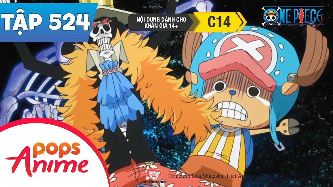 One Piece Tập 524 - Cuộc Chiến Sống Còn. Quái Vật Dưới Biển Sâu - Đảo Hải Tặc