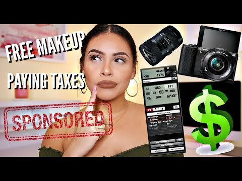 HOW TO MAKE YOUTUBE YOUR FULL TIME JOB: EQUIPMENT, SPONSORSHIPS, TAXES  | JuicyJas