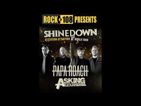 Ned-Rock 108 Interviews Brent Smith of Shinedown