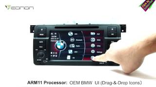 Eonon GM5150 BMW E46 Car DVD GPS with Screen Mirroring & OEM BMW UI & & NFC URC(Exclusive)