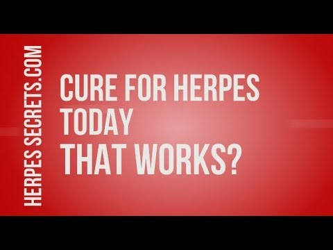 Herpes Cure Breakthrough 2018