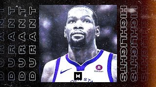 Kevin Durant Best Highlights | Warriors 18-19 Season Part 1 | CLIP SESSION