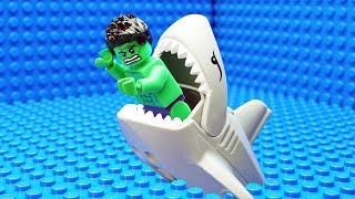 Lego Hulk Shark Fail...