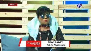 DIMANCHE AVEC VOUS (Invité: BEKO SADEY)Du 08 /09/2019 EQUINOXE TV