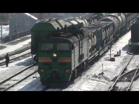 2ТЭ10М-0386 (РЖД,КБШ ЖД станция Салават)
