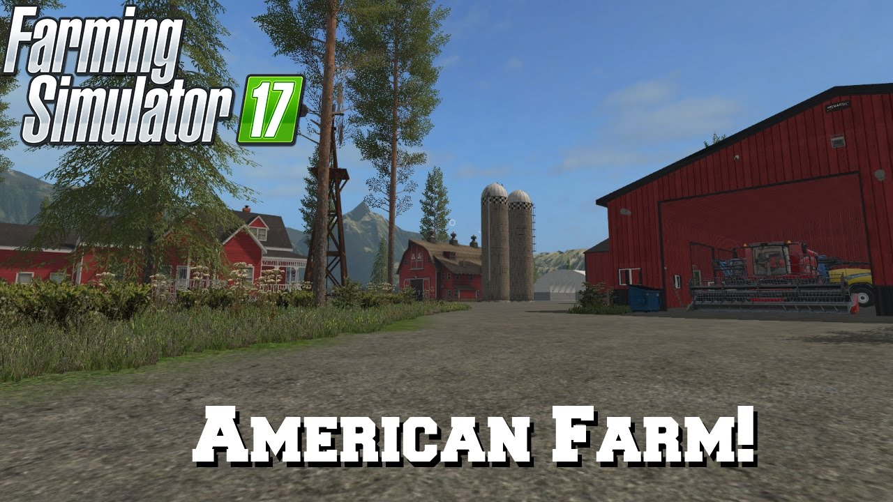 FS Mod Spotlight EP American Farm YouTube - Fs 17 us map