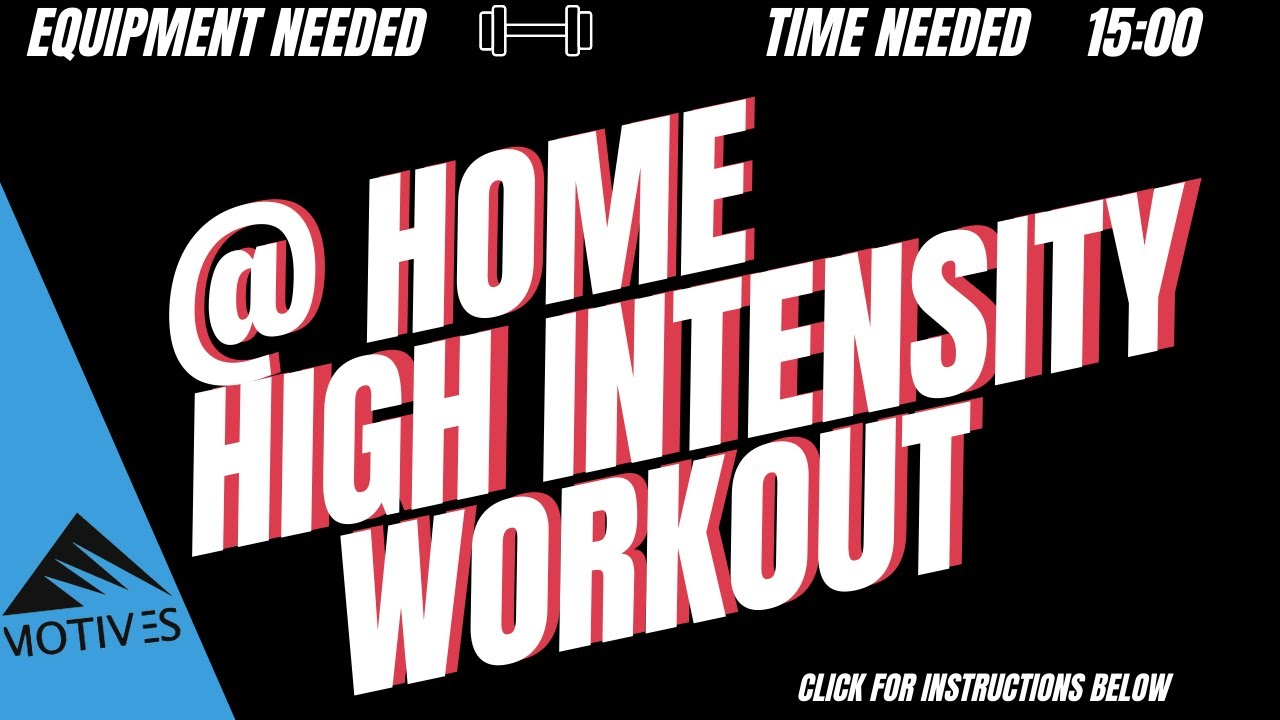 At Home HIIT Clean | Goblet Squat | Squat Thrust