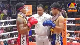 Jakpetch Phorziwluck Thailand Vs Chan Bunleap Cambodia, Khmer Warrior Bayon TV Boxing 20 July 2018
