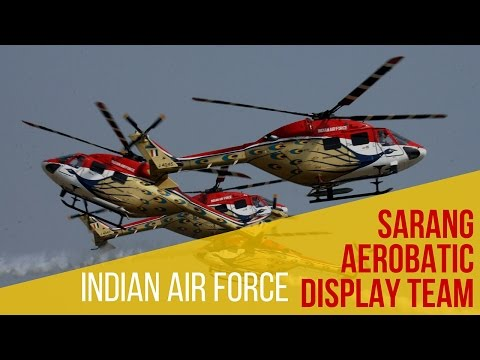 INDIAN AIR FORCE - Sarang Helicopter Display Team