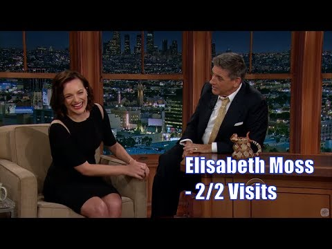 Elisabeth Moss - Easily Amused, In A Good Way - 2/2 Visits In Chronologial Order [480-1080p]