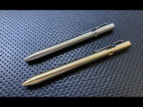 The Tactile Turn Bolt Action Pen: The Full Nick Shabazz Review