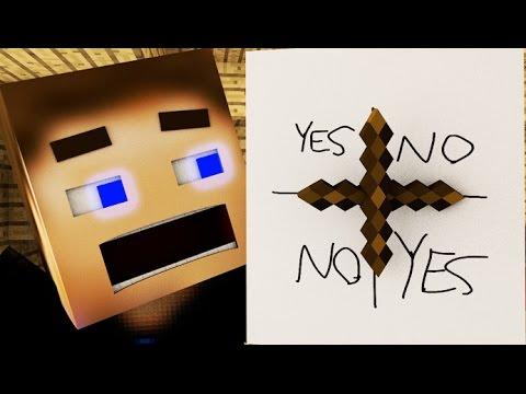 Charlie Charlie Pencil GAME Challenge! [Minecraft Animation]
