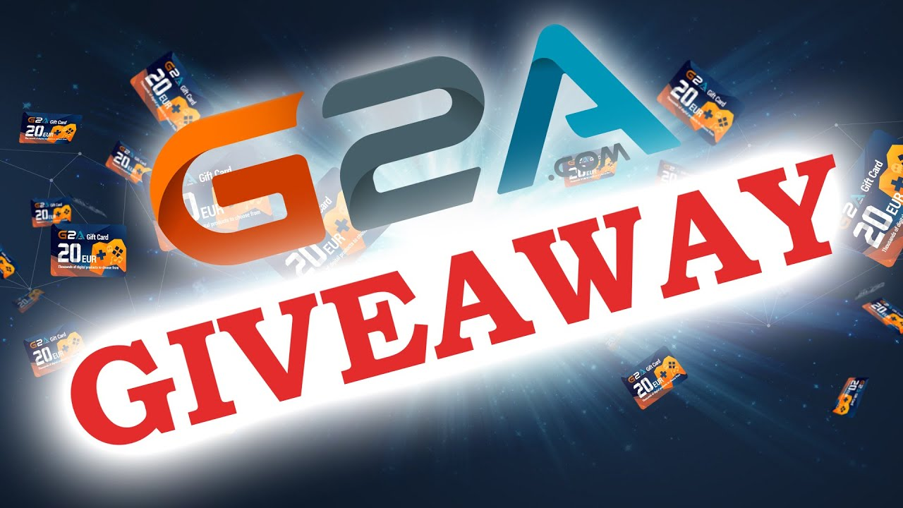 G2A Giveaway - 3x20 Euro GIFTCARDs - YouTube