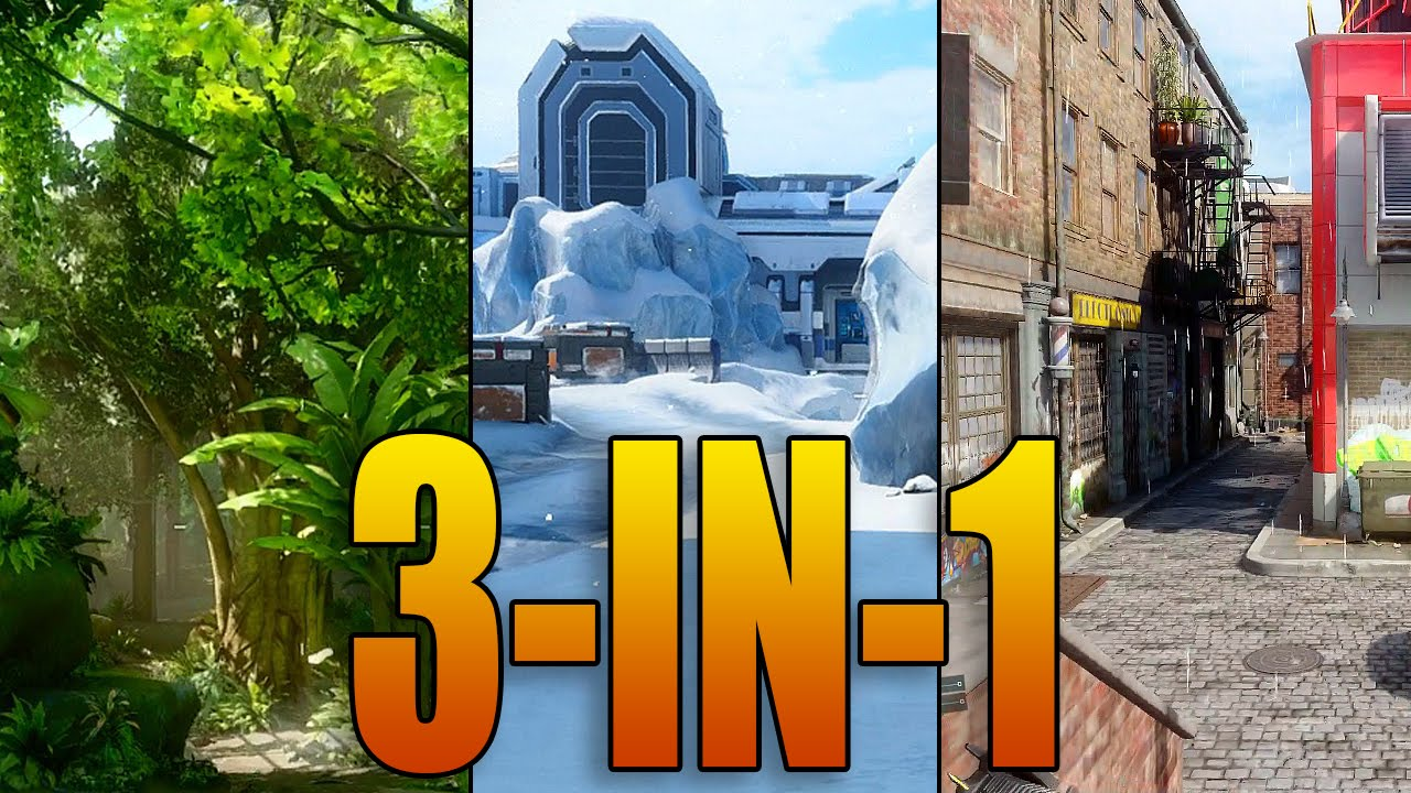 3 Maps In 1 Snow Jungle And Urban Black Ops 3 Gauntlet Dlc