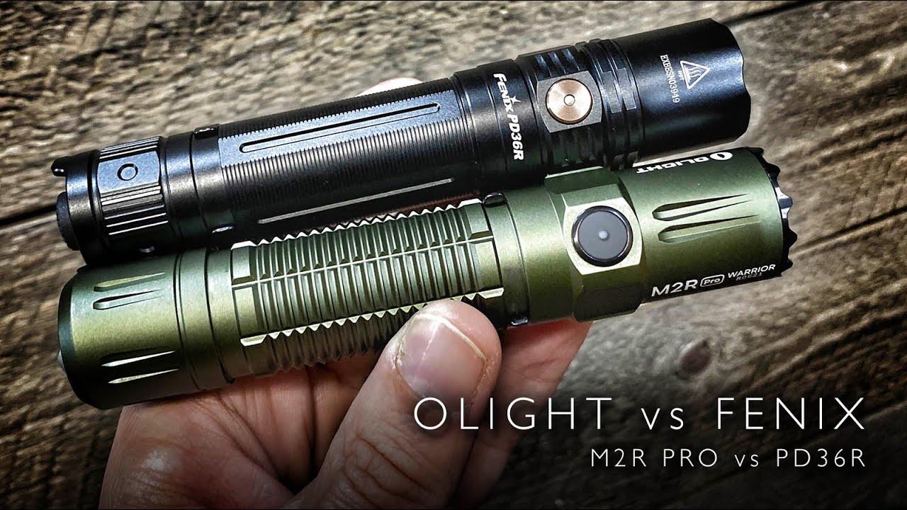 olight m2r pro vs fenix pd36r