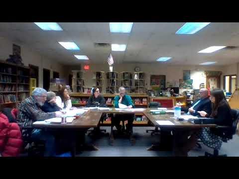February 8, 2018 Budget Workshop - Minerva Central School