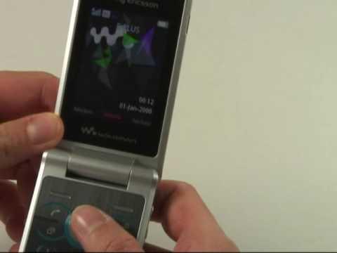Sony-Ericsson W508 Test Bedienung