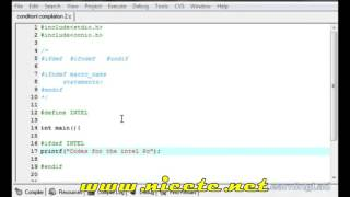 ifdef    ifndef   undef Conditional Compilation Macros  37  C Programming Video Tutorial