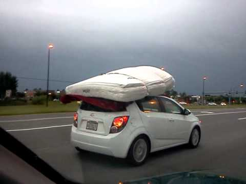 Mattress Car Sail Funny