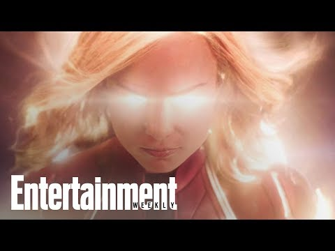 Captain Marvel  Decoded: Brie Larson's Superhero Powers Up  Entertainment Weekly