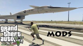 xb 70 valkyrie mod nasa mach 3 bomber prototype the gta 5 mod showcase