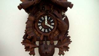 Large Vintage Musical Cuckoo Clock