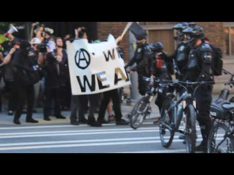 Anarchists Vs Seattle | May Day 2016 | Anti-capitalists in Downtown Riot