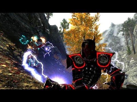 Skyrim Battles - Marcurio vs Savos Aren [Legendary Settings]