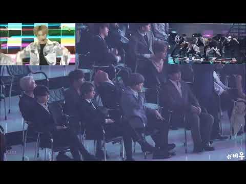 [Reaction] 190424 BTS 방탄소년단 Reaction Stray Kids - MIXTAPE#1+ MIROH @TMA