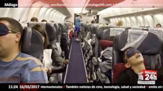 Del móvil al auricular que explota en pleno vuelo - Málaga 24h TV -