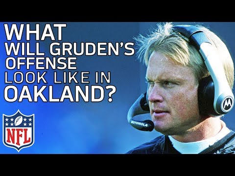 What Will Jon Gruden's Offense Look Like with the Raiders? | Film Review | NFL Network