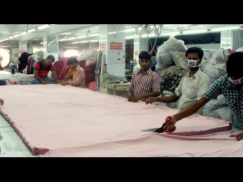 Garments Knit fabric cutting