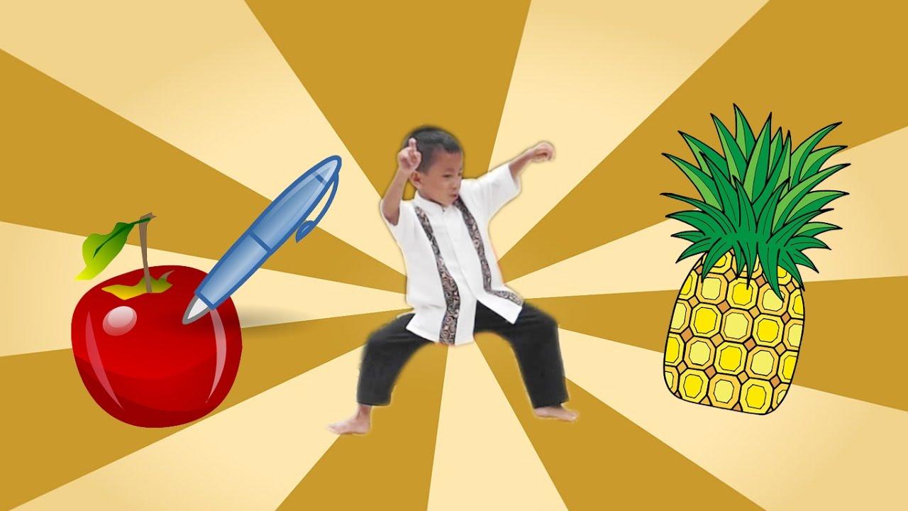 Asyiknya Anak Kecil Joget PPAP Pen Pineapple Apple Pen Bikin