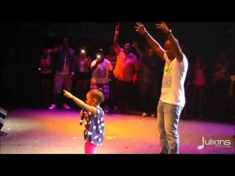 Bunji Performs Differentology w. Daughter Syri @ Six Flags Caribbean Concert 2013 + Fayann