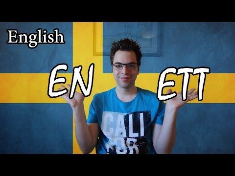 Learn Swedish | Grammar 1 - En & Ett | Lesson 14