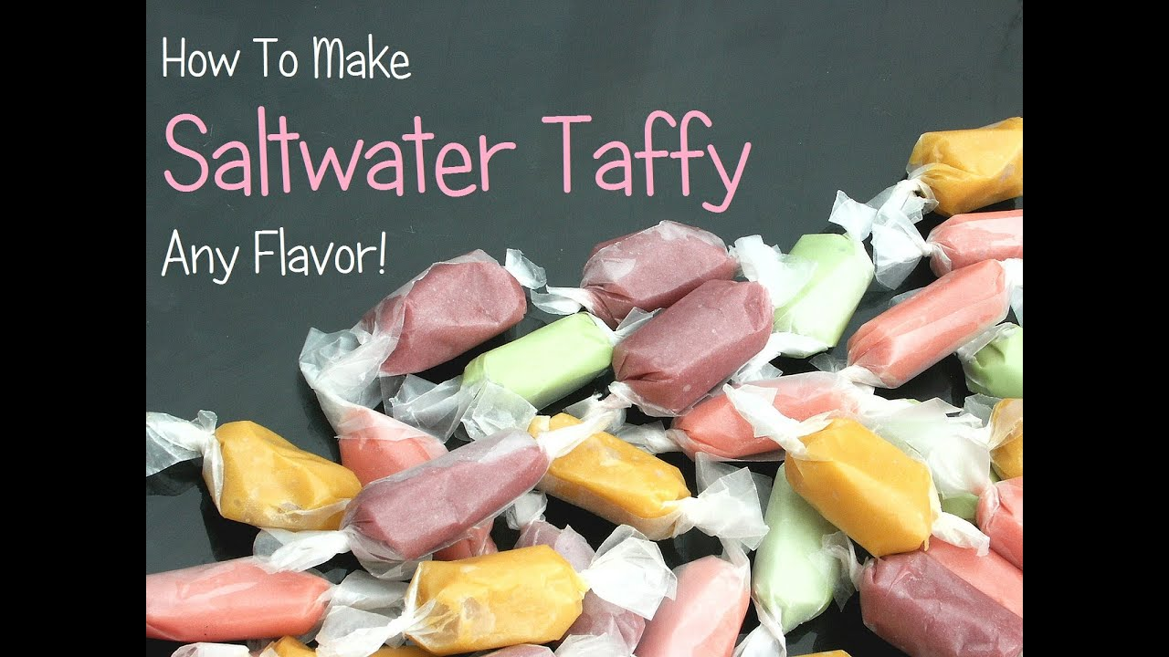 Let's Make Saltwater Taffy - Fun & Easy Recipe!