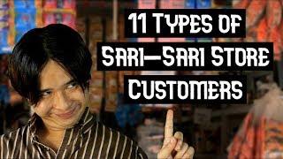 11 Types of Sari-Sari Store Customers