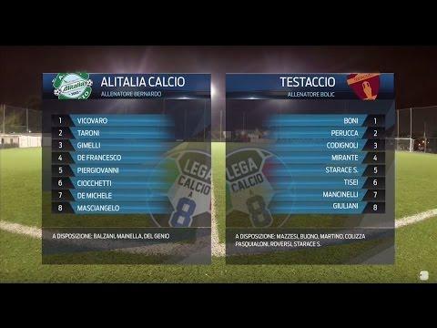 Alitalia Calcio 5-3 Testaccio C8 | Serie A - 2ª | Highlights