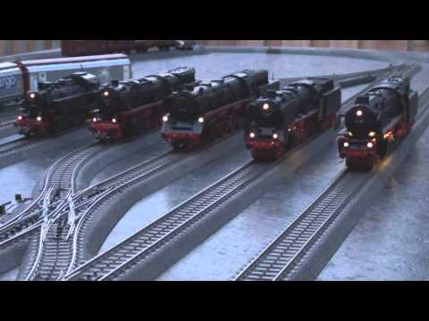 Märklin Deutsche Dampflok Lokparade