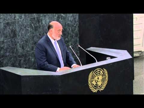 Ambassador Ron Prosor at UN General Assembly Debate on