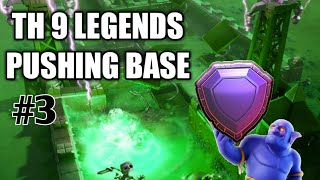TH9 TROPHY PUSHING BASE/LEGENDS LEAGUE BASE 2018 #3 【BEST BASES 2018】|CLASH OF CLANS | ×HINDI×